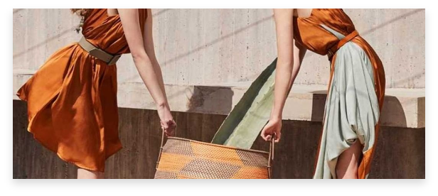 Greek designer brand of sustainable clothing