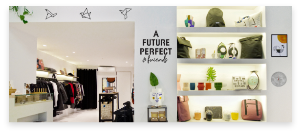Homeware, tableware, ceramics and more are available in A future perfect
